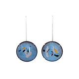 RMS GOUACHE BLUE EARRINGS
