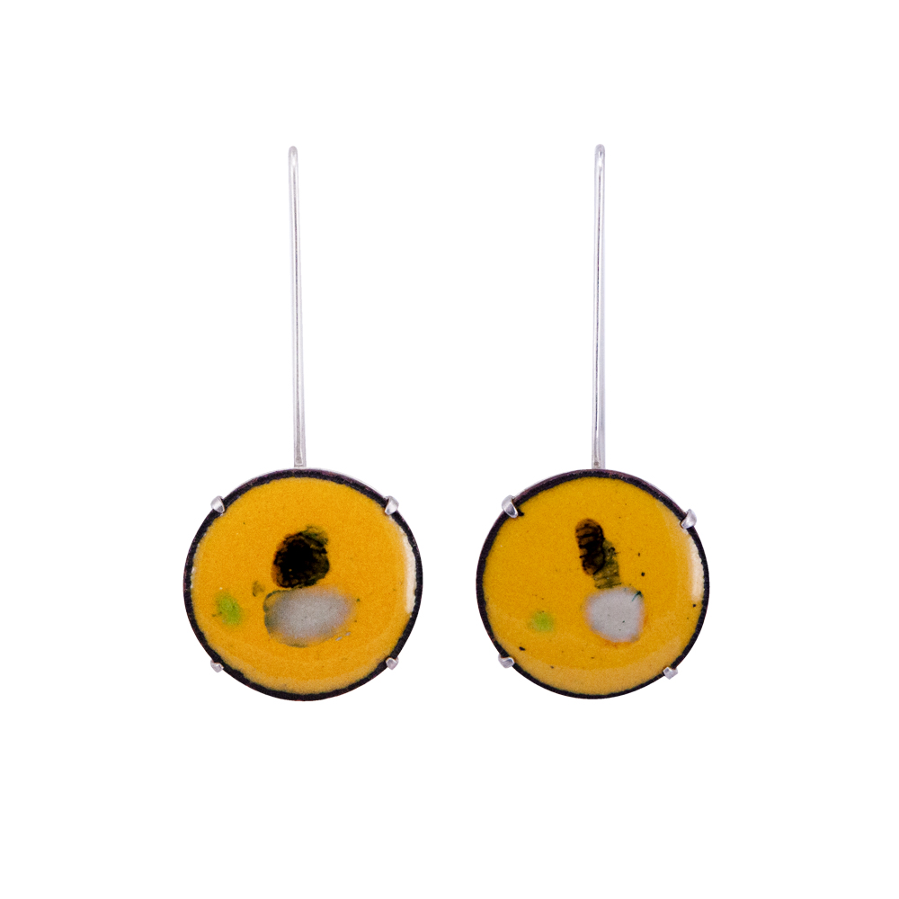RMS GOUACHE YELLOW EARRINGS